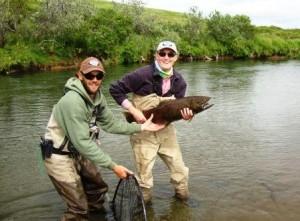 Randy & Chum Salmon LRes